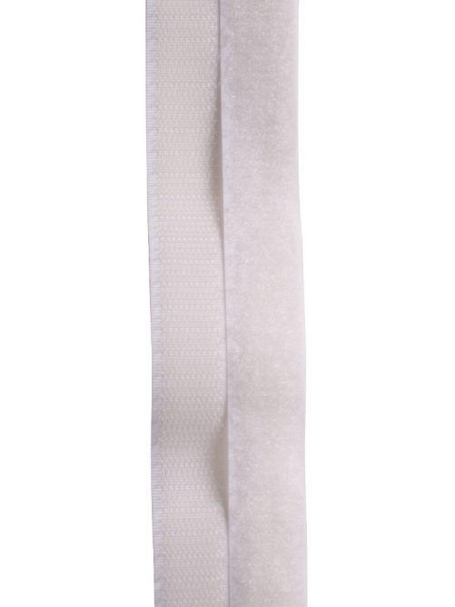 Klittenband wit