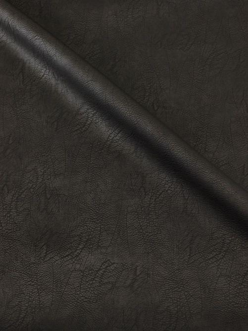 Kunstleer vintage zwart