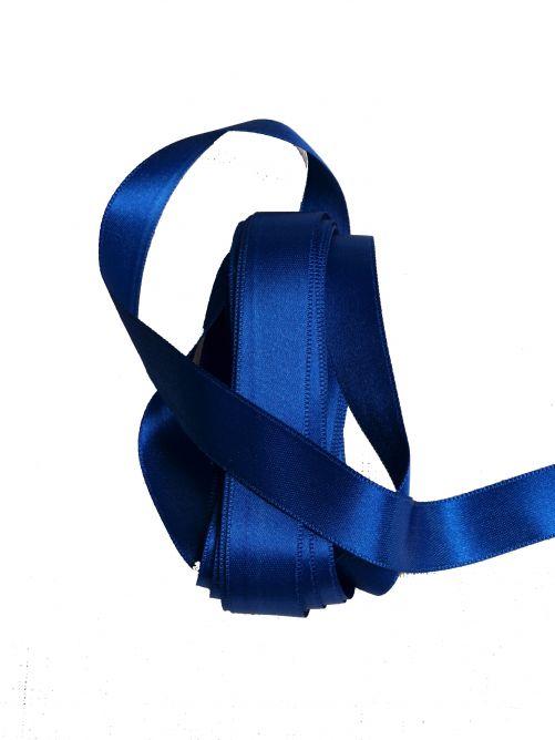 satijnlint 15 mm blauw 3 meter
