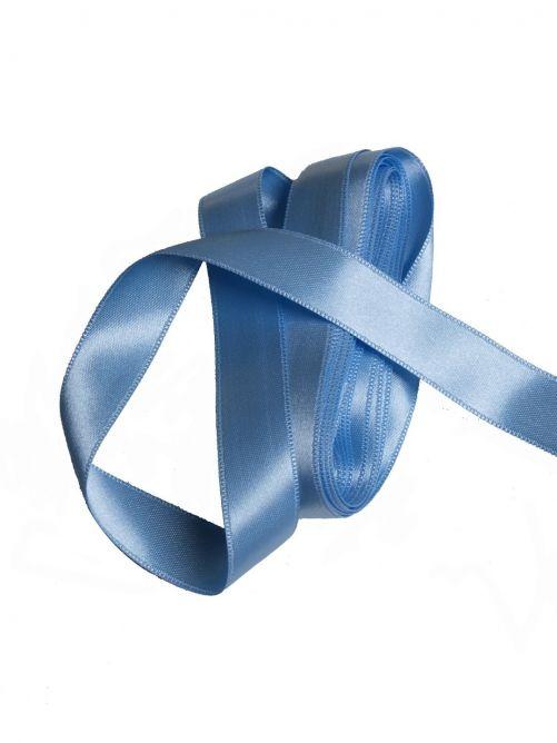 satijnlint 15 mm licht blauw 3 meter