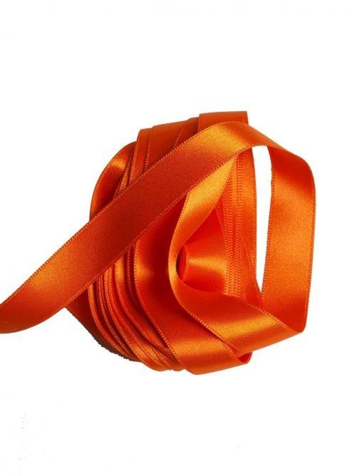 satijnlint 15 mm oranje 3 meter