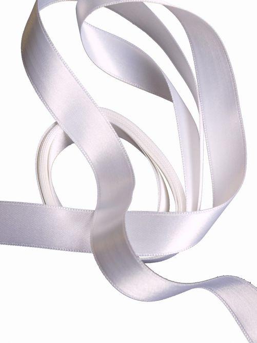 satijnlint 15 mm wit 3 meter