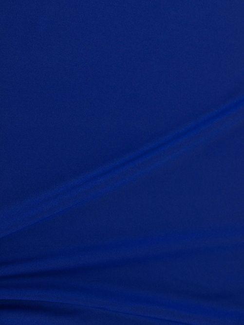 lycra stof blauw