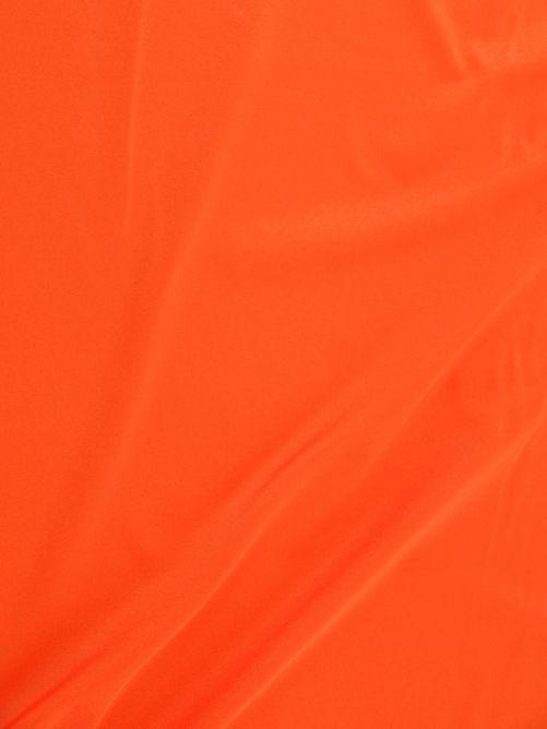 lycra stof oranje
