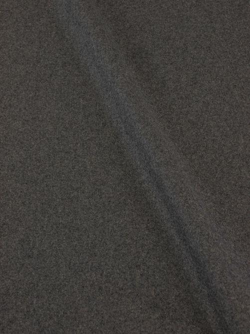 Mantelstof caban grijs
