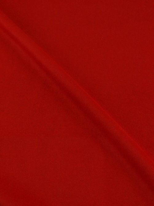 Mantelstof caban rood