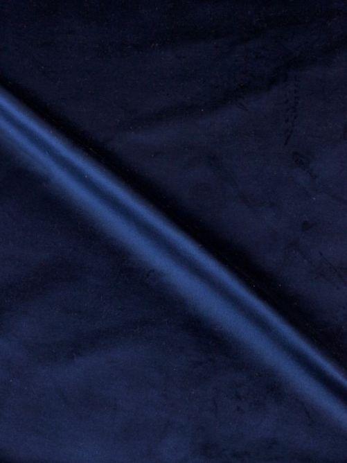 Meubelstof velours donker blauw