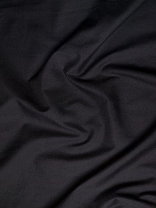 Katoen stof zwart 235 breed