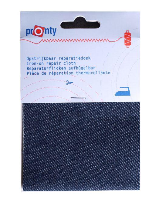 reparatiedoek jeans donkerblauw