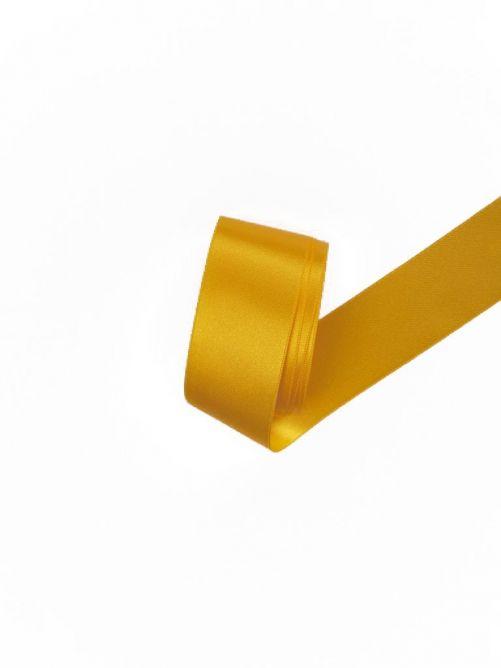 Satijnlint 38 mm geel 3 meter