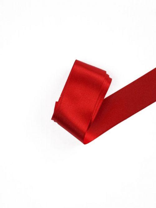 Satijnlint 38 mm rood 3 meter