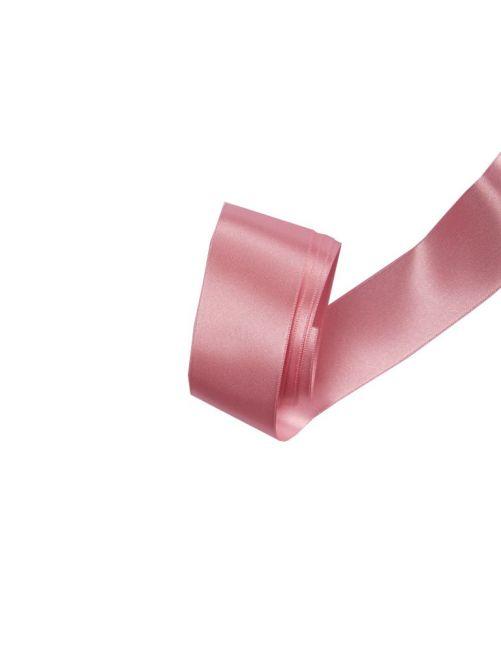 Satijnlint 38 mm roze 3 meter