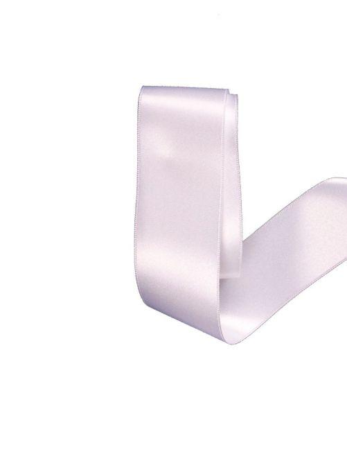 Satijnlint 38 mm wit 3 meter