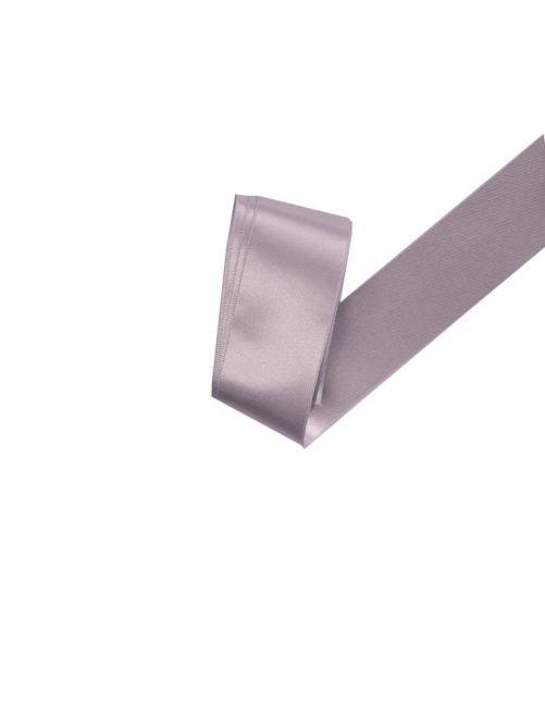 Satijnlint 38 mm zilver 3 meter
