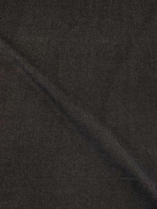Spijkerstof dik zwart