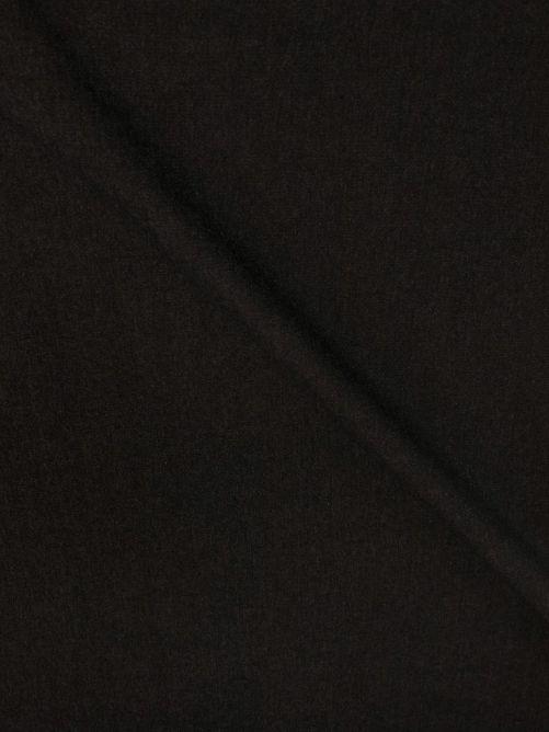 Spijkerstof stretch dik zwart