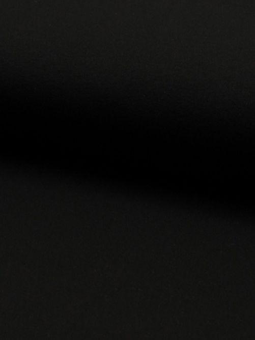 Tricot stof zwart