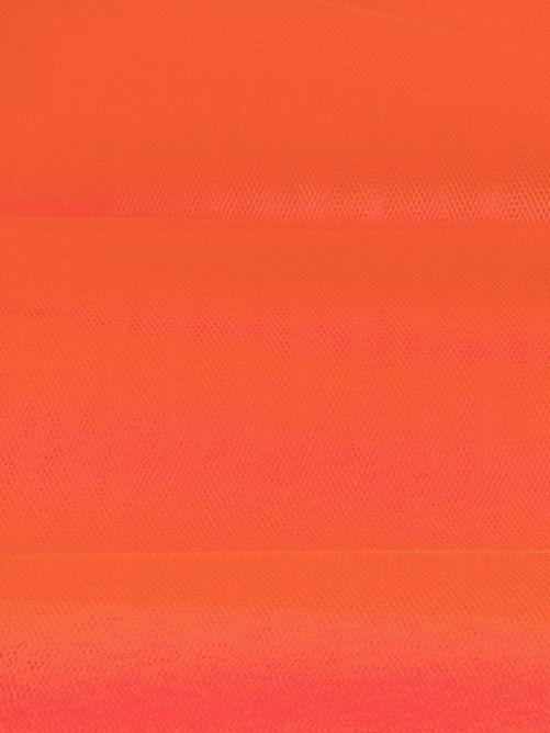 Tule fluor oranje