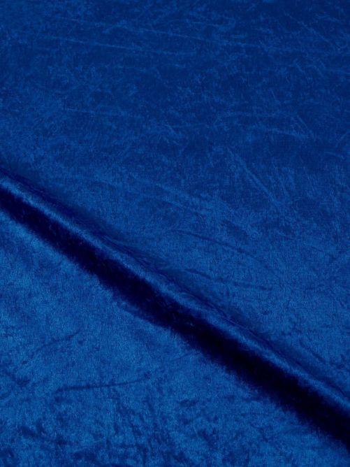 Velours de Panne blauw