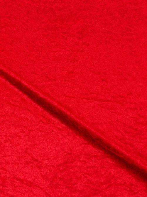 velours de panne rood