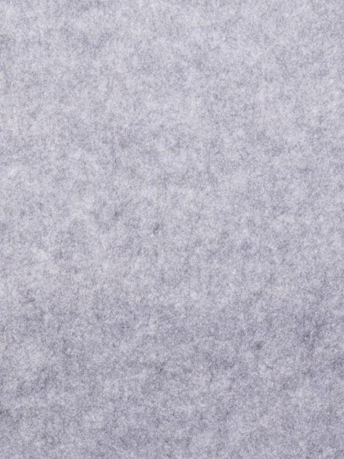 Vilt 3 mm gemêleerd licht grijs