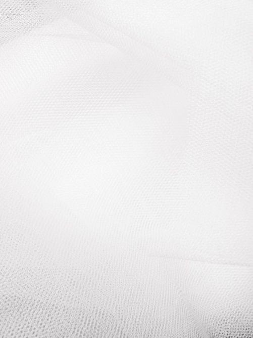 tule stof wit