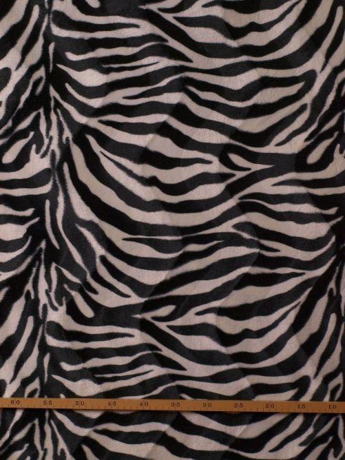 Dierenprint zebra wit