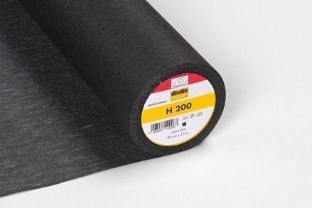 Vlieseline H 200 zwart