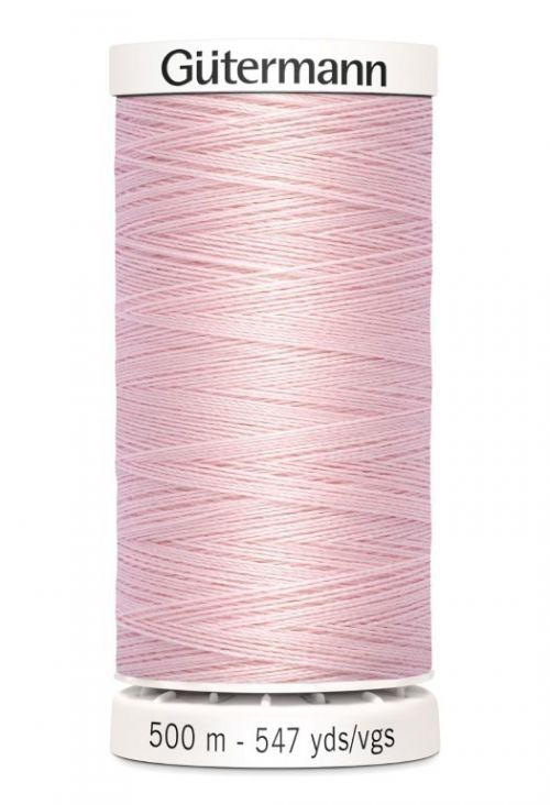 Gütermann garen 500 meter licht roze #659