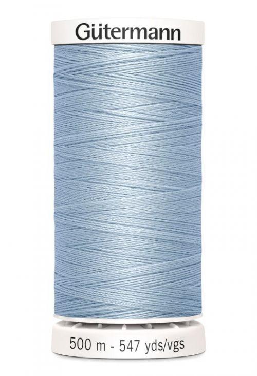 Gütermann garen 500 meter licht blauw #75