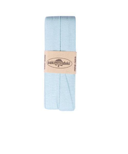 Oaki Doki elastisch biaisband dusty mint