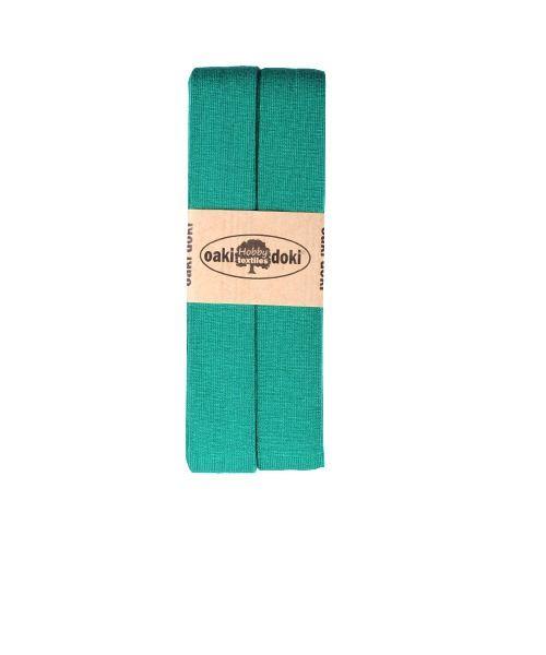 Oaki Doki jersey biaisband groen 450