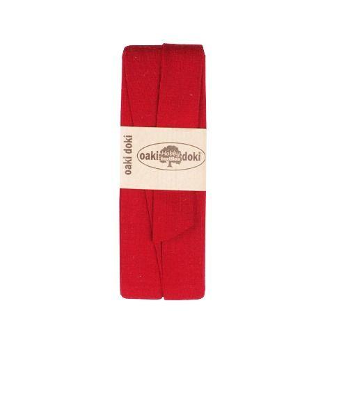 Oaki Doki jersey biaisband donkerrood 600