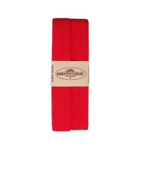 Oaki Doki jersey biaisband rood 620