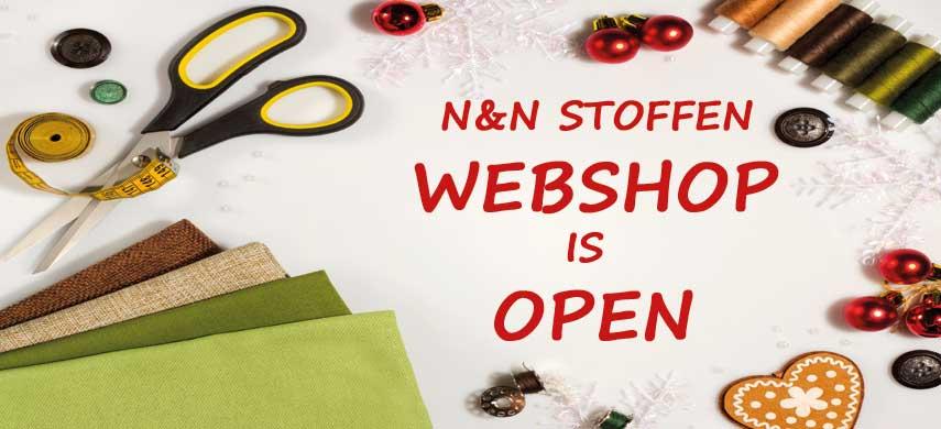 Webshop in open
